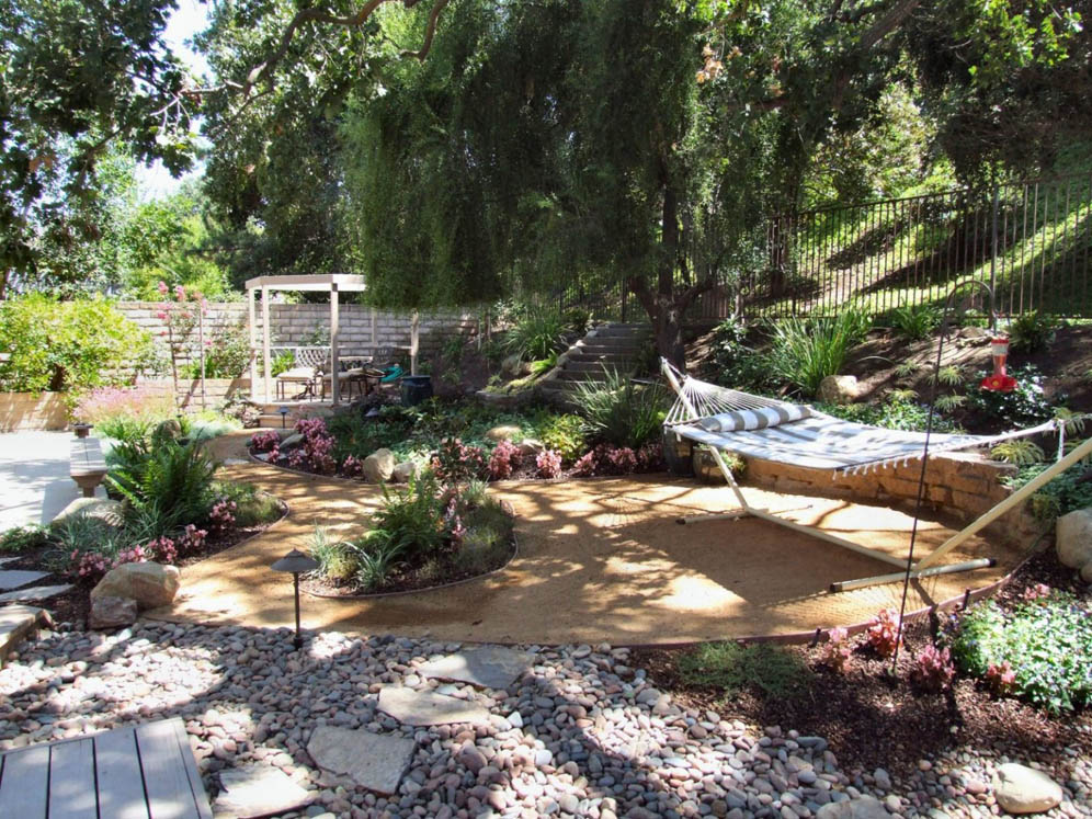 Dappled Shade Garden